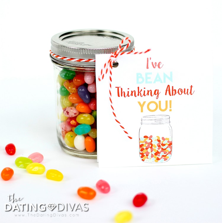 Jelly Bean Date Night Love Note