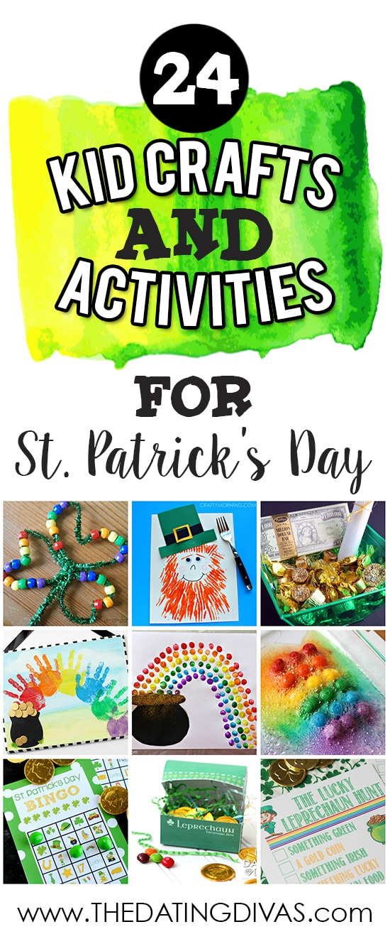 st patricks day craft ideas banner