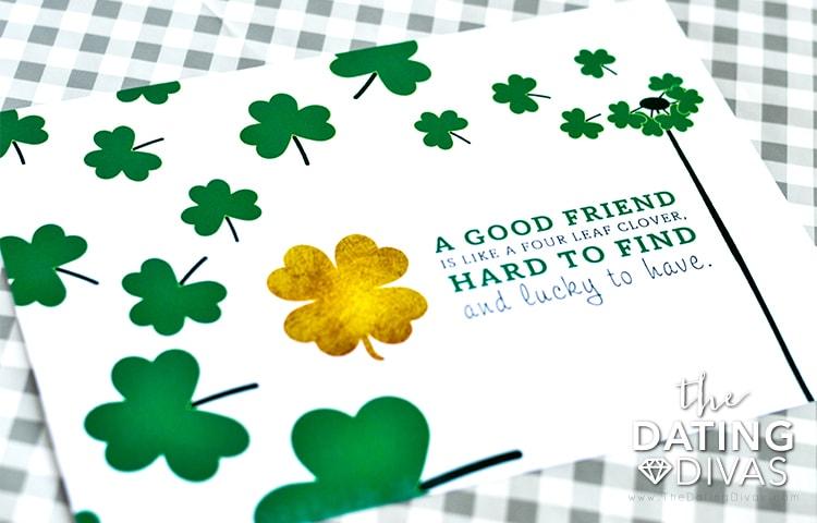 Lucky Friends Print