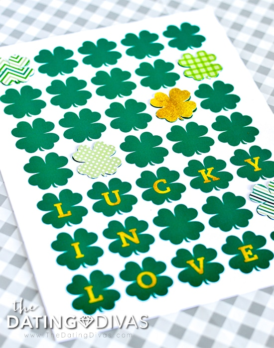 Lucky in Love Frameable Print