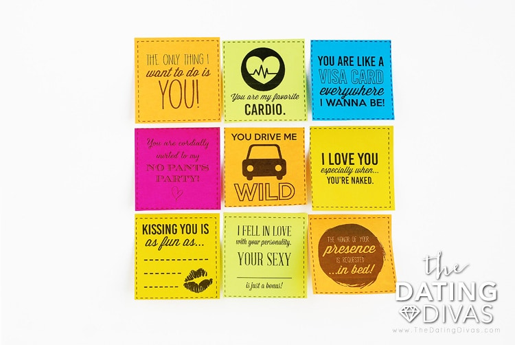 Love Notes For Your Spouse On Sticky Notes