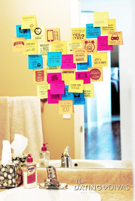 Sticky Note Love Message