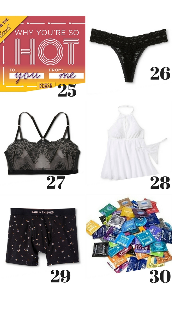 Sexy Gift Guide #SexyGiftGuide