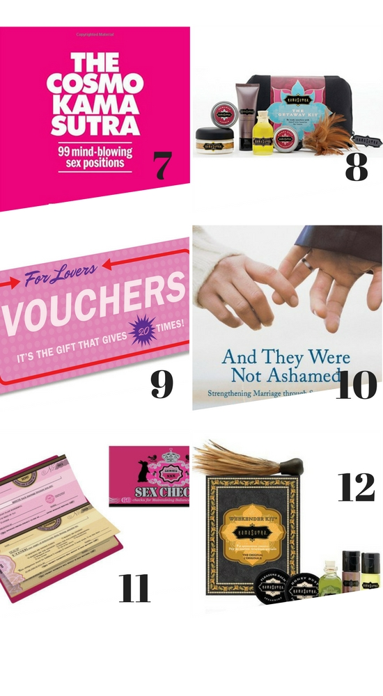 Spicy Gift Guide #SexyGifts