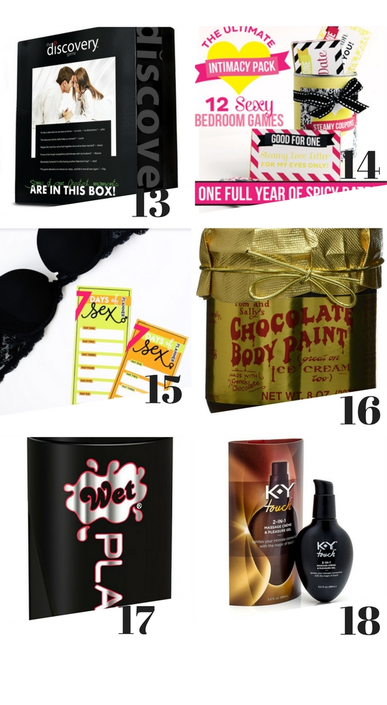 Sexy Gift Ideas #SpicyGiftGuide