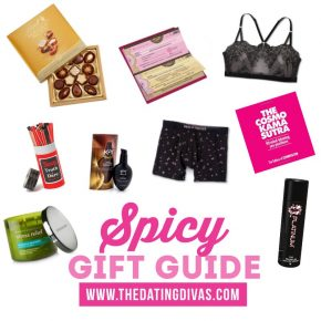 Spicy Gift Guide #SexyGiftGuide