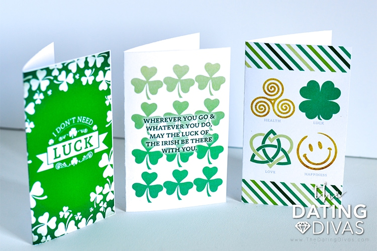 3 St. Patrick's Day Cards