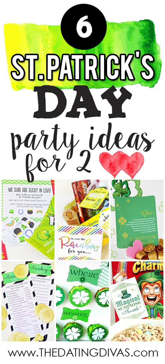St. Patrick's Day party Ideas for 2