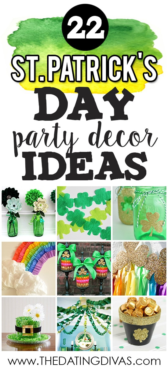 St. Patrick's Day Party Decor banner