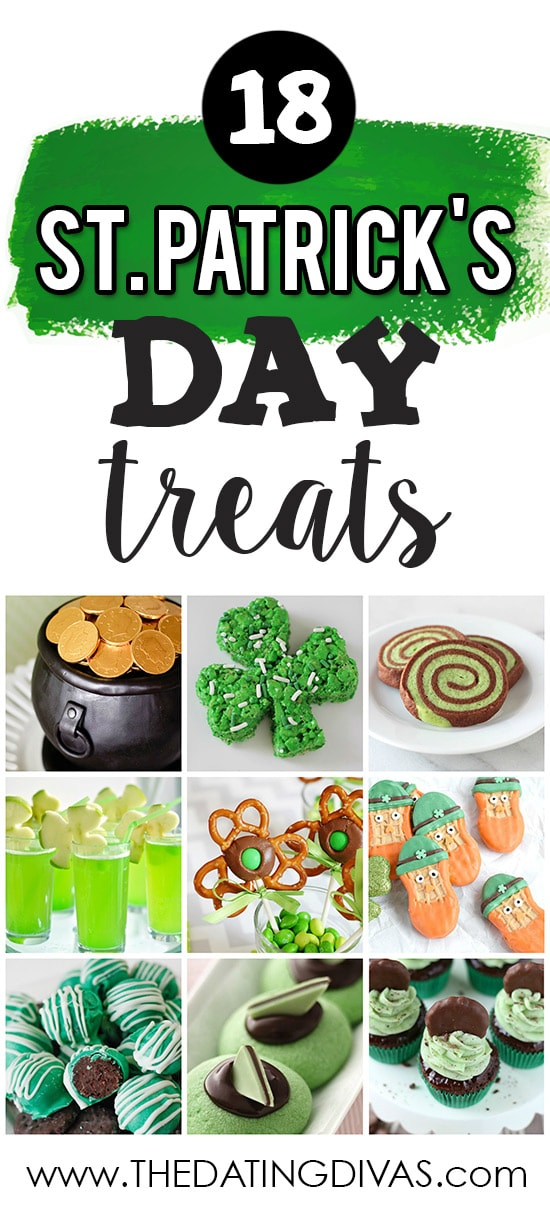 St. Patrick's Day Treats banner