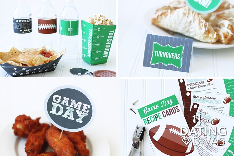 Super Bowl Party Pack Football Snacks