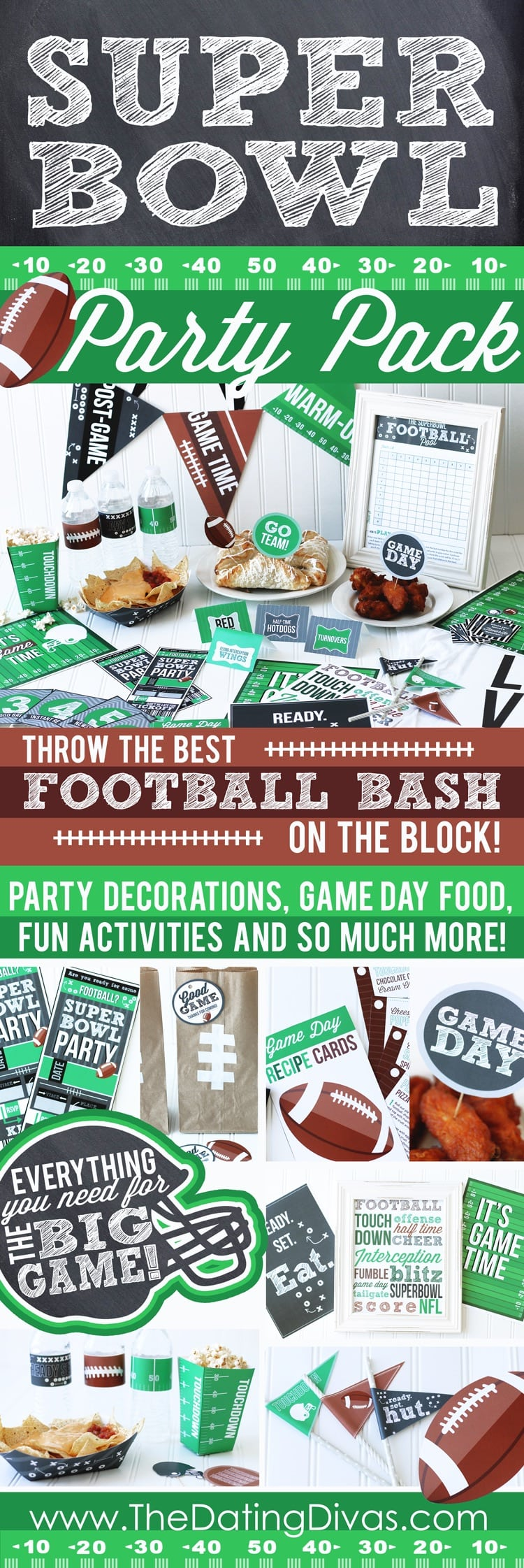 Super Bowl Party Pack
