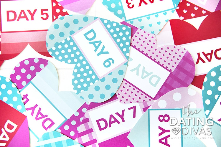 Valentine's Day Countdown - 14 Days of Love
