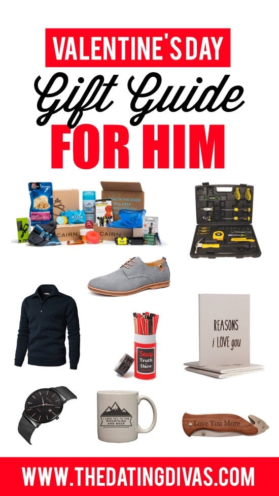 Valentines gift for him just started dating