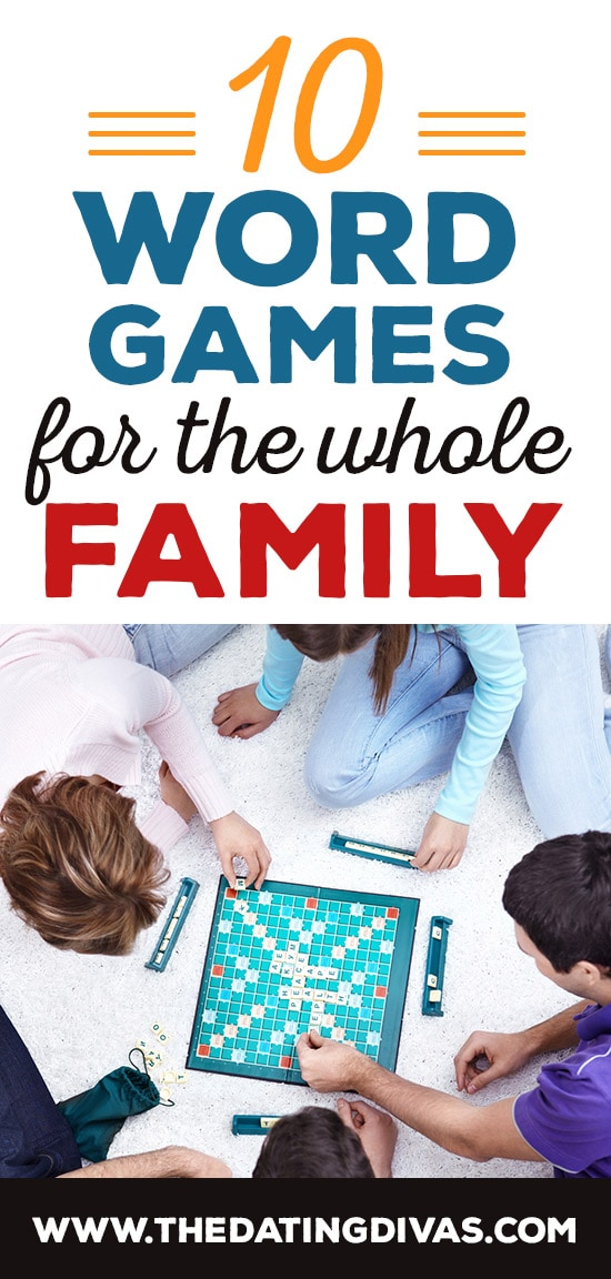 Word Games for the Whole Family