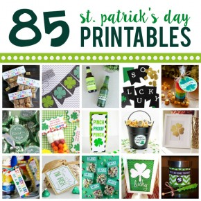 St. Patrick's Day Printables for Everyone!