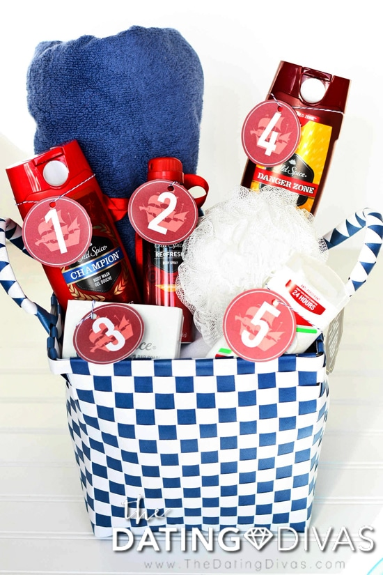 Sexy Gift Basket for Him