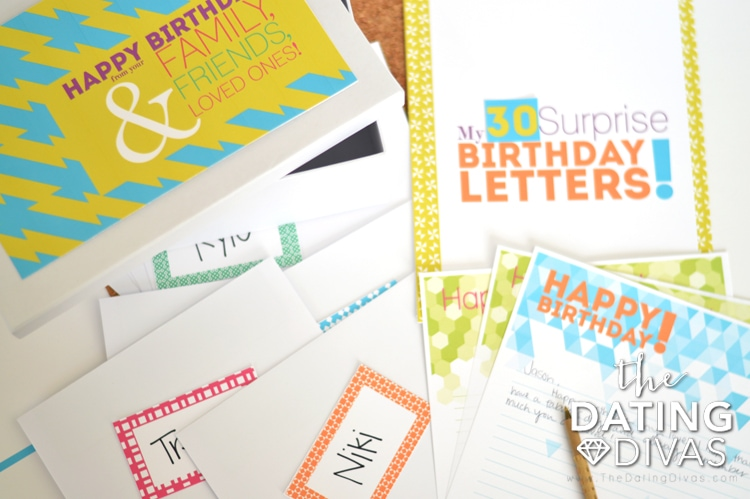 Birthday Letter Surprise The Dating Divas