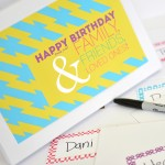 Birthday Letter Surprise!