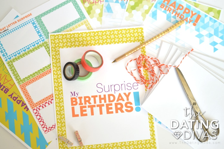 Birthday Printables, for Free