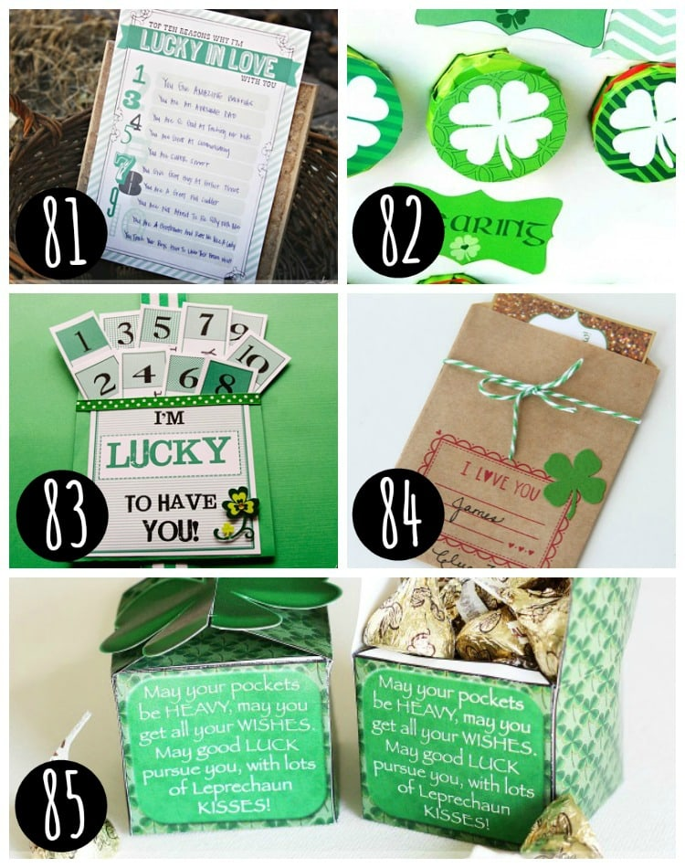 Spouse Ideas for St. Patty's Day