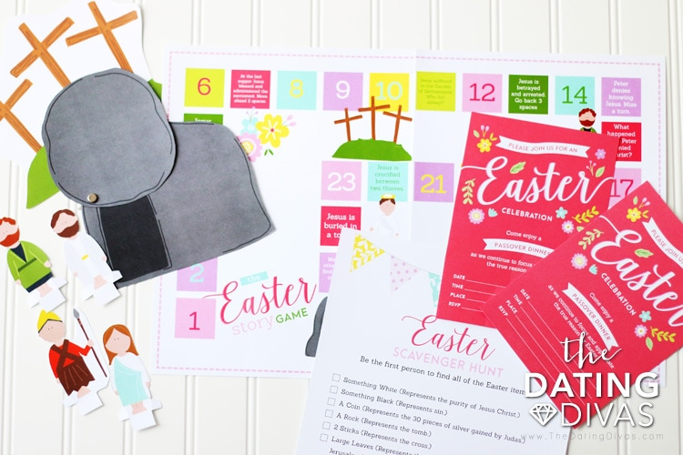 Christ-Centered Easter Countdown Activities