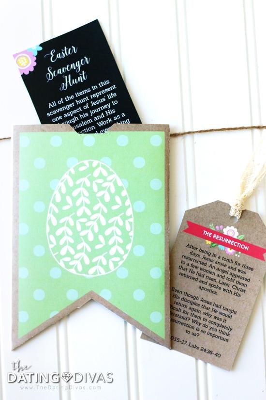 Christ-Centered Easter Countdown Banner Pocket