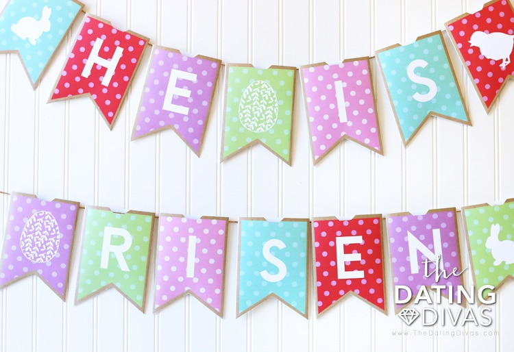Easter Traditions Countdown Banner