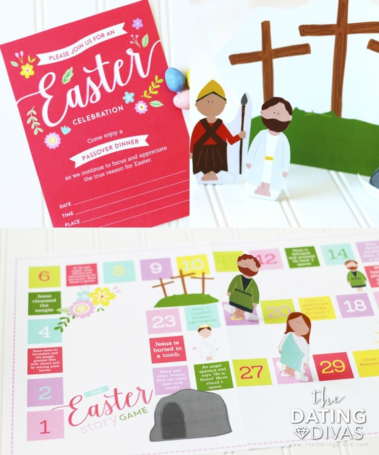 Christ Centered Easter Countdown Family Activities