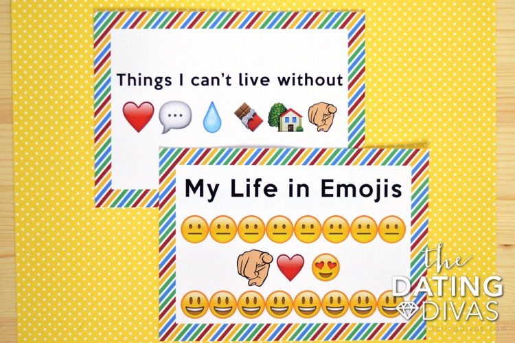 Clever Emoji Love Notes - The Dating Divas