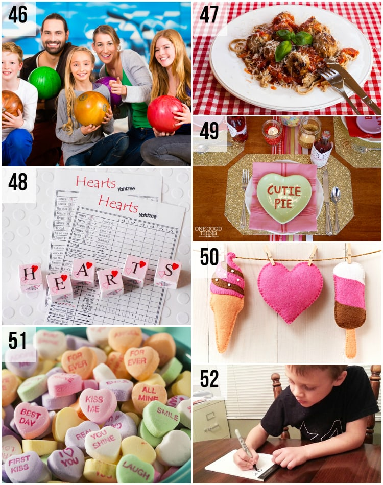 Family Valentine's Day Date Night Ideas