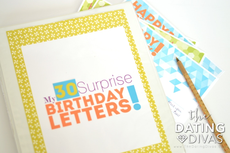Surprise Birthday Letters