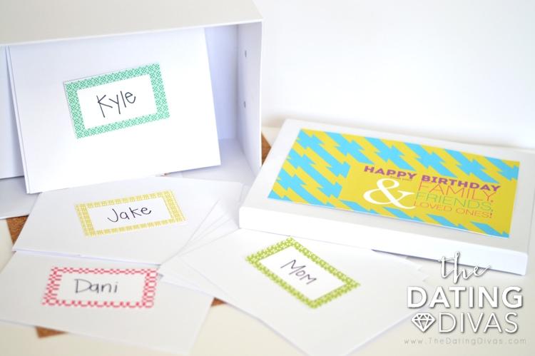Birthday Letter Box