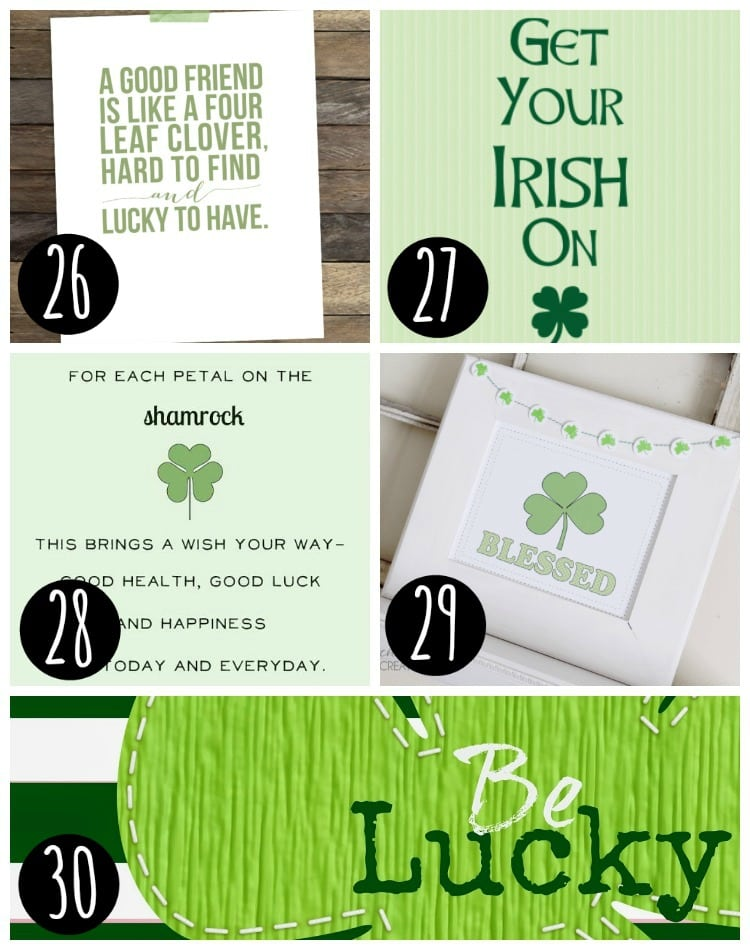 St. Patty's Day Prints