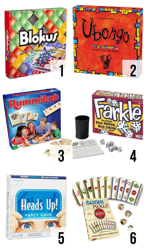 Family Fun Board Games