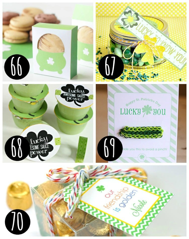Great treats for your St. Patty's Day party!
