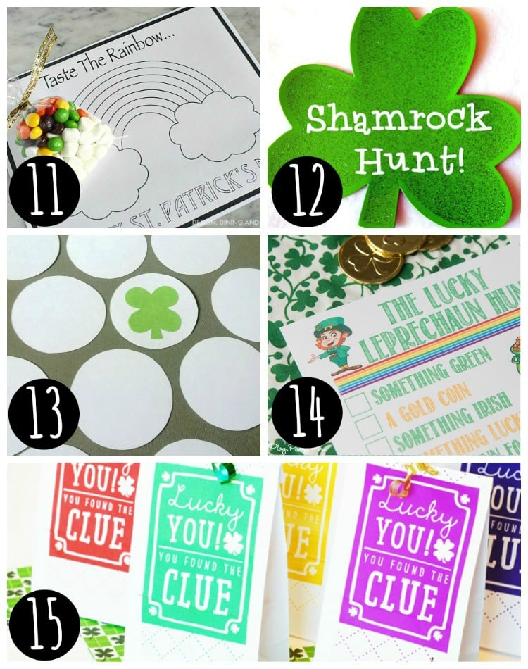 st patrick's day ideas photo collage