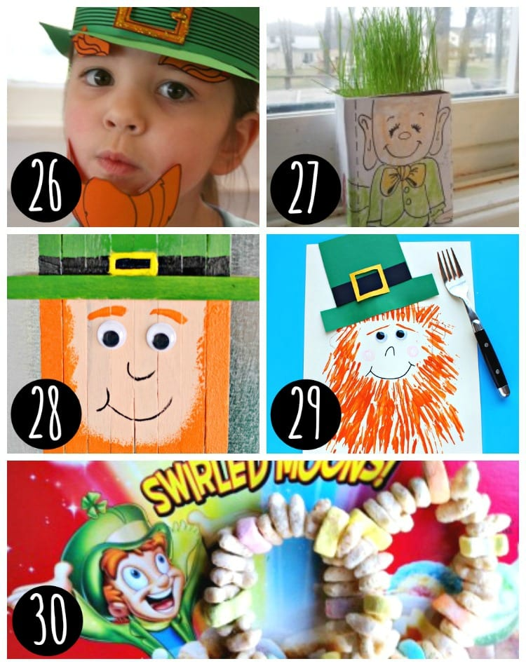 Great St. Patrick's Day Kids Crafts