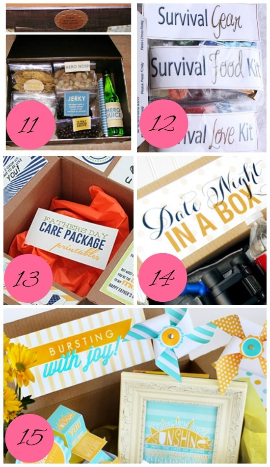 How to keep the love alive when apart through packages.