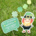 You've Been Shamrocked: Lawn Leprechaun Idea