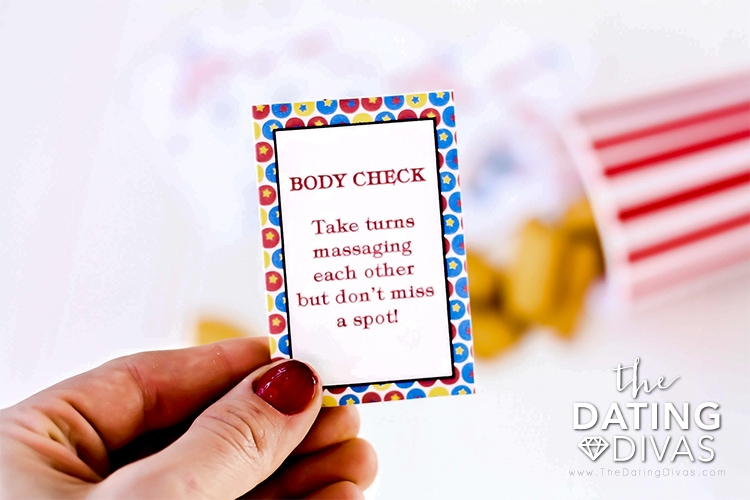Body Check Bedroom Card
