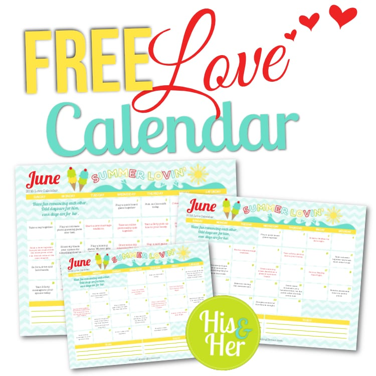 Romantic Calendar Ideas : June love calendar the dating divas