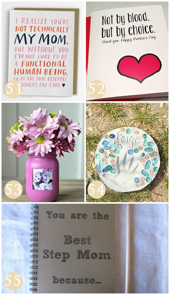 More Mother's Day Gift Ideas for Stepmom
