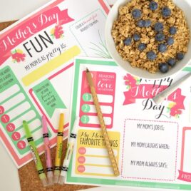 Perfect Mother's Day Printable