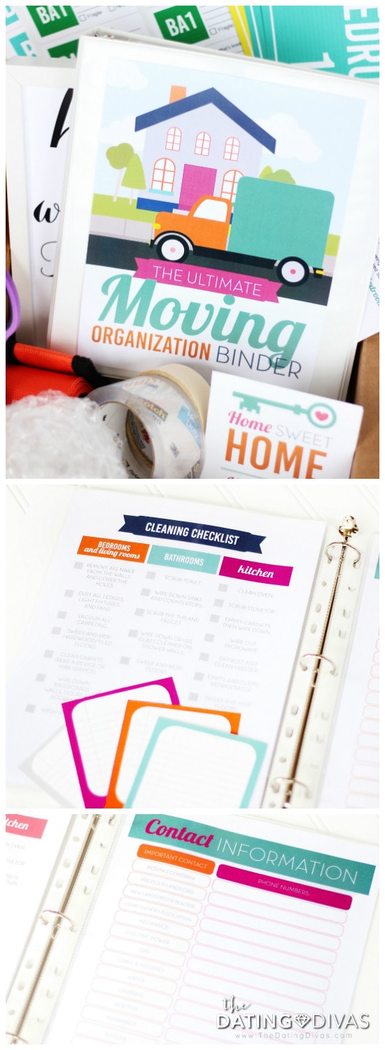 Moving Organization Binder