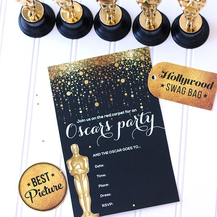 Oscar Party Invitations – gangcraft.net