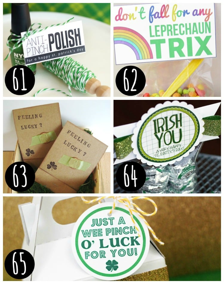 Free Gift Tags - St. Patrick's Day