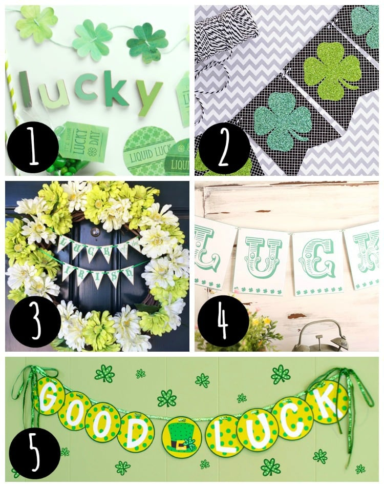 5 free st patrick's day printables ideas