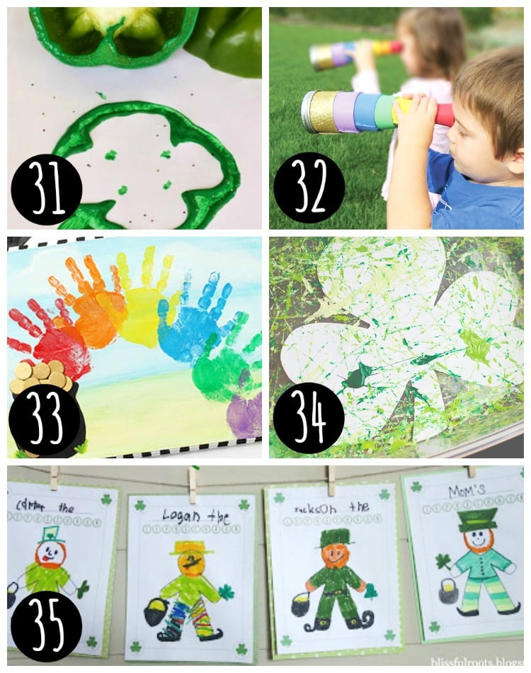 Kids Arts and Crafts - St. Patrick's Day