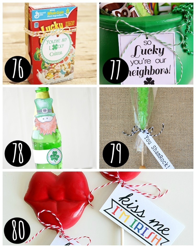 Free Printable Gift Tags for St. Patrick's Day